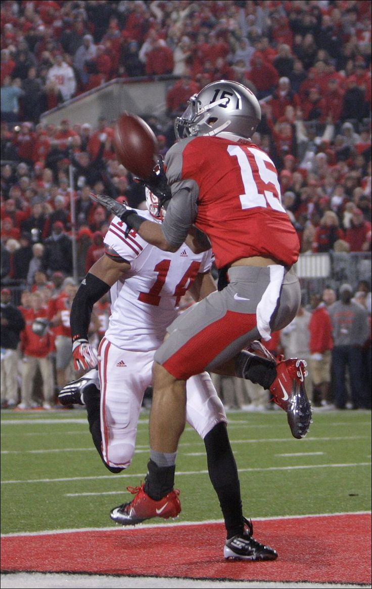Ohio+State+Football | Ohio State's Devin Smith, right, catches the game-winning touchdown as ...