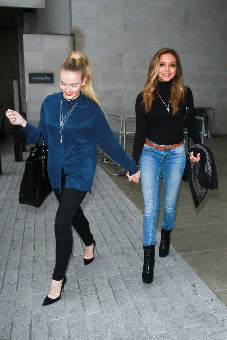 Perrie Edwards and Jade Thirlwall
