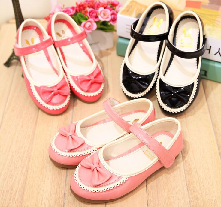 2015 Autumn Sweet Princess Kids Shoes Girls Dress Shoes G114 #DressShoes