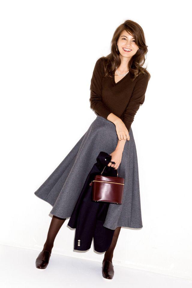 もっと素敵に着こなしたい!「ブラウン上手」になる方法-@BAILA ワタシを惹きつける。モノがうごく。リアルにひびく。BAILA公式サイト|HAPPY PLUS(ハピプラ)集英社