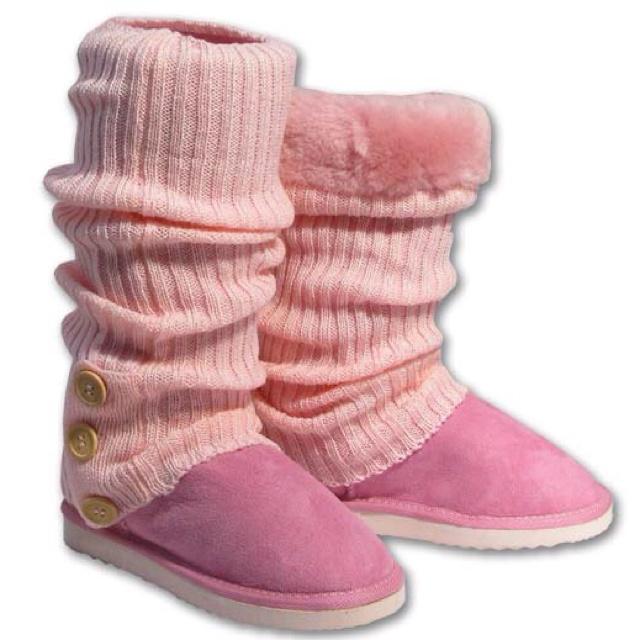 Pink Ugg Socks.