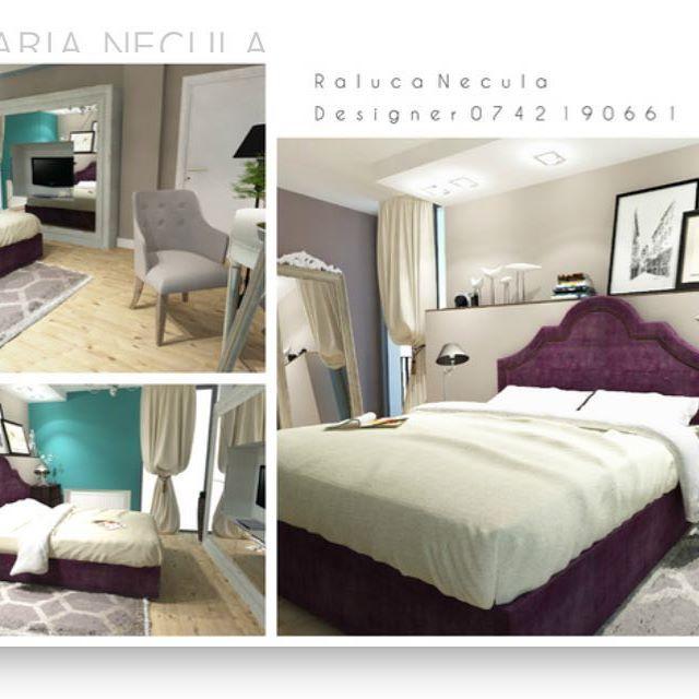 Neoclasic _____________________________________________  #brasov #designinterior #classy #interior #design #play  #3D #positive #bedroom #furnituredesign #dormitor #colors #white #modern NECULA RALUCA MARIA DESIGNER INTERIOR BRASOV RALU.NEC@GMAIL.COM