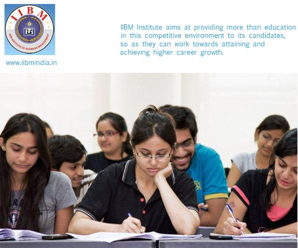 IIBM Institute aims at providing more than education in this competitive   environment to its candidates, so as they can work towards attaining and   achieving higher career growth.For more details please click below link. http://www.iibmindia.in/course_category.php