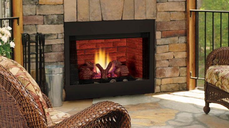 BBV Series B Vent Gas Fireplaces by Majestic Products