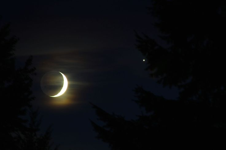 Saturn Shines with Venus and Crescent Moon Tonight, Sept. 9, 2013. Skywatcher Samuel J. Hartman captured this close-up view of Venus near the crescent moon on Sept. 8, 2013 from State College, Pa.
