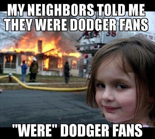 Hahaha!! Should send this to my friend who's a Dodgers fan