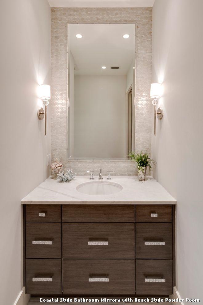 Coastal Style Bathroom Mirrors