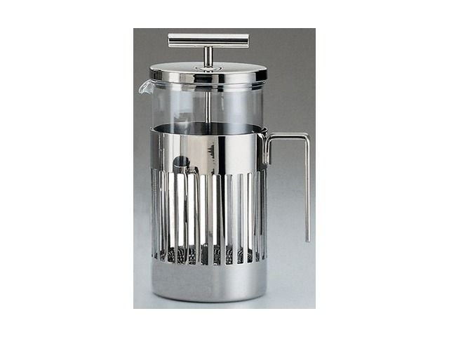 Aldo Rossi Press Filter Coffee Maker Or Infuser Modern Coffee Makers And Tea  Kettles