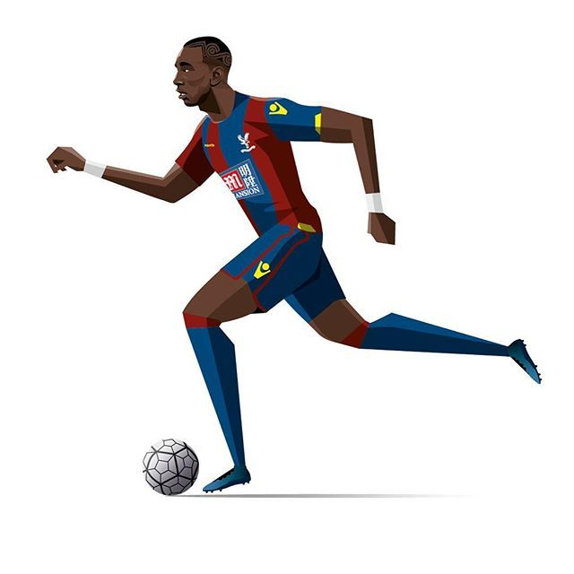 #mulpix Yannick Bolasie FA cup final programme illustration  #bolasie  #crystalpalace  #facup  #cpfc  #facupfinal