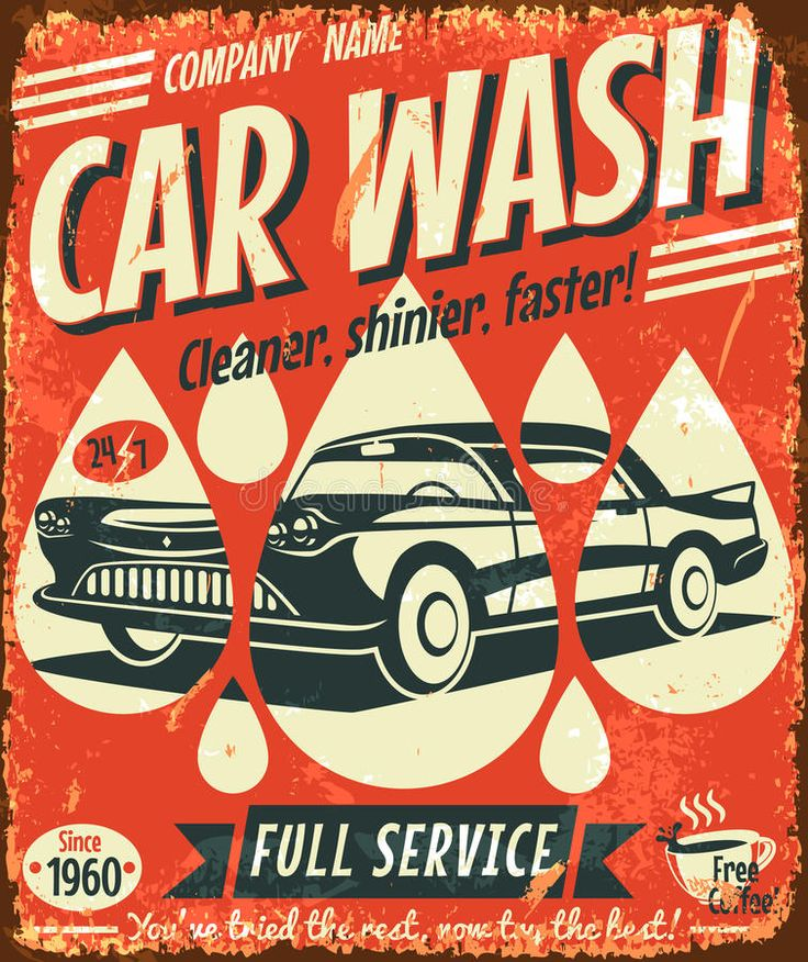 21 best Car Wash images on Pinterest Car wash, Retro cars and Googie - car wash flyer template