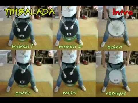 samba reggae tutorial - timbalada