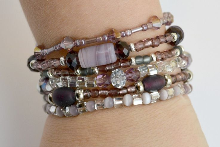 DIY- Stretch Bracelet Tutorial: How To Make A Simple Stacked Accessory