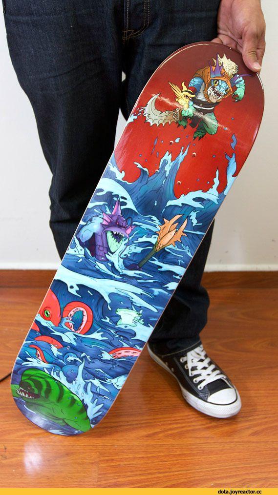 #Dota2 Skate board