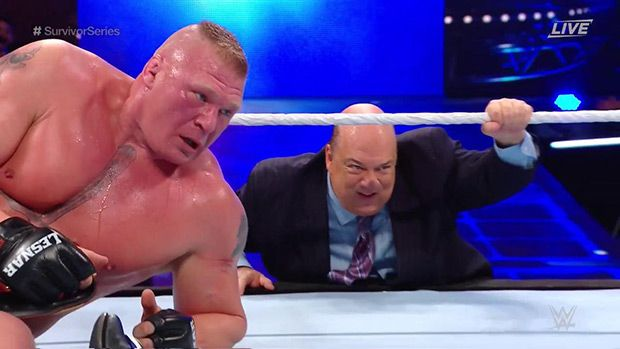 Brock Lesnar Survives Hellacious Match To Defeat AJ Styles At Survivor Series https://tmbw.news/brock-lesnar-survives-hellacious-match-to-defeat-aj-styles-at-survivor-series  At WWE's 'Survivor Series,' it was champ versus champ as AJ Styles went toe-to-toe with 'The Beast' Brock Lesnar. This match was a total war, that saw 'The Phenomenal One' best his opponent after surviving a brutal beating!On one side of the ring, it was SmackDown's WWE World Champion, AJ Styles , 40. On the other end…