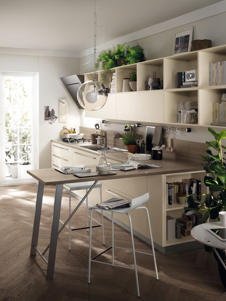 Scavolini believes that even the most elegant project must still be absolutely functional | #Feel | #ModernKitchens | #Design