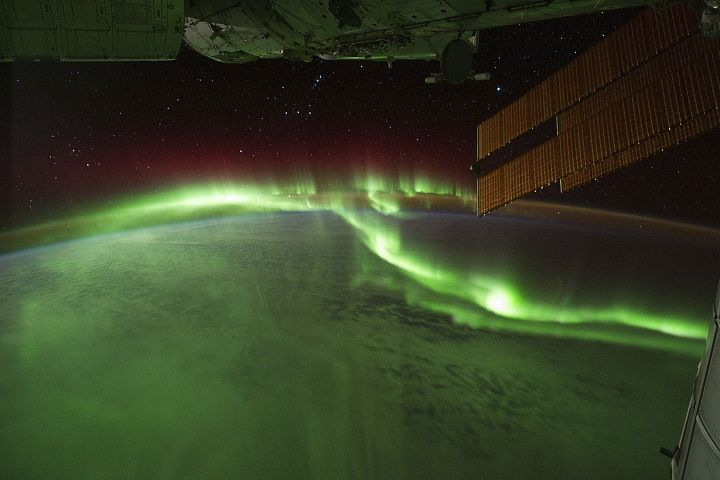 """""""And the skies were alive with light, with a throbbing, thrilling flame ..."""" from The Ballad of the Northern Lights"""