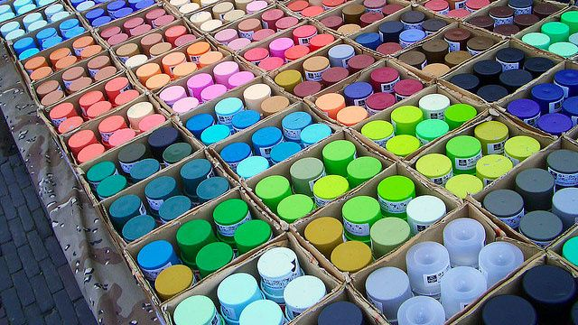 Get Free Paint at Your Local Recycling Center
