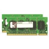 Kingston ValueRAM 4GB 667MHz DDR2 Non-ECC CL5 SODIMM (Kit of 2) Notebook Memory (Personal Computers)By Kingston
