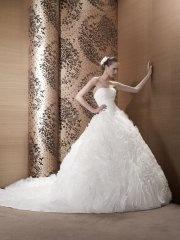 Suknia ślubna Pronuptia Ariane, kolor ivory i biel