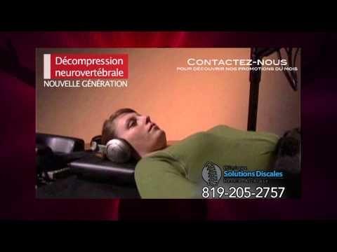 Nouveau traitement hernie discale - nerf sciatique - arthrose vertébrale...