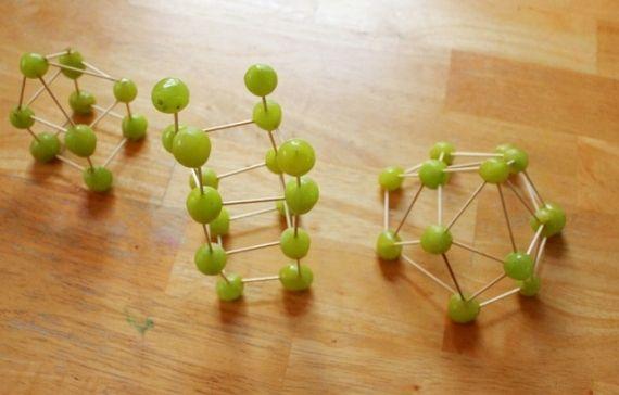 Edible Art Toothpick Sculpture - grapes