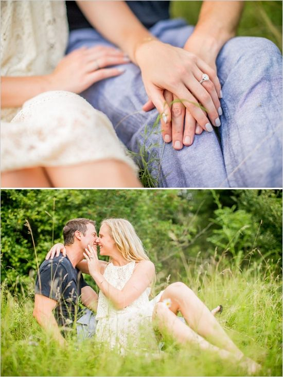 Private Picnic Engagement Session