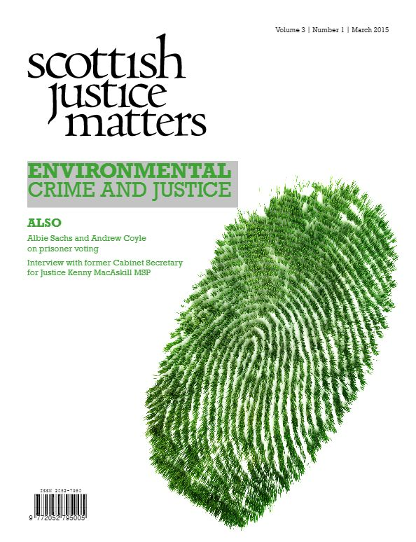 Nigel Smith - Environmental Justice: the challenge posed by environmental crime for criminal justice.