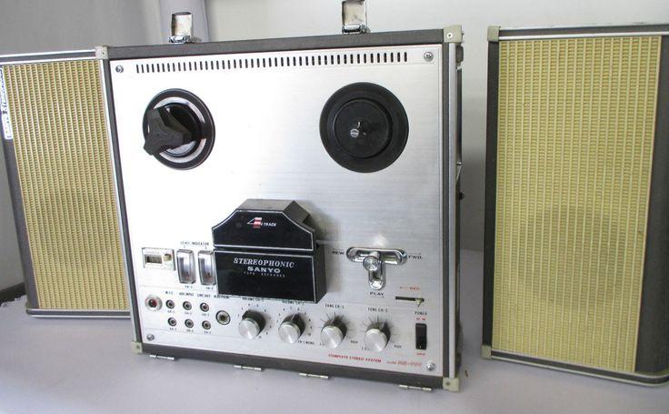 Stereo MR-909 R-Player Sanyo Electric Stereo 1968 Osaka Vintage Retro Very Rare | eBay