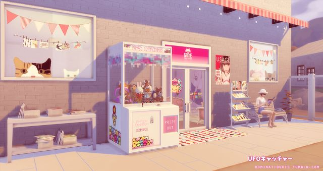 Dominationkid Sims 4 Ufo Catcher Game Room