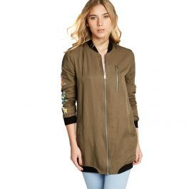 69c5bd10d CHAMARRA CASUAL HOLLY LAND B007 ~ DAMA Verde Olivo | sweters ...