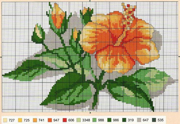 Gallery.ru / Фото #81 - разные цветочные схемы - irisha-ira