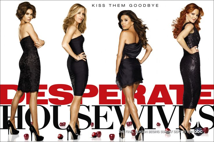 They're desperate, but with style! :)  #desperate #housewives #fashion