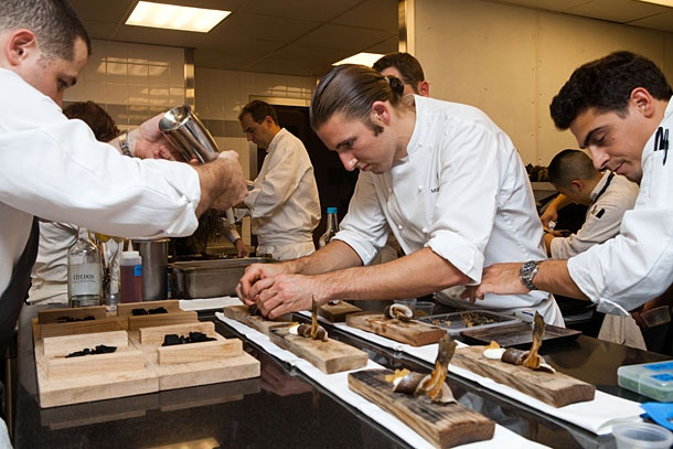 The Ultimate Switch - Alinea and Eleven Madison Park | Yellow Blog