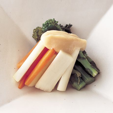 山菜のマリネみそだれがけ | 明峯牧夫さんの小鉢の料理レシピ | プロの簡単料理レシピはレタスクラブネット