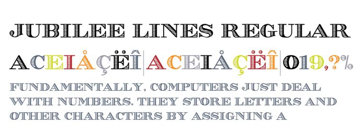 Buy Jubilee Lines Regular desktop font from Mecanorma from ITF on Fonts.com.