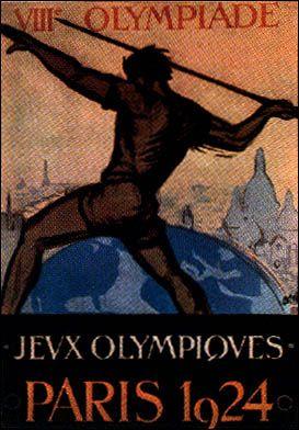 1924年パリ大会 - オリンピック開催地一覧&ポスター - JOC