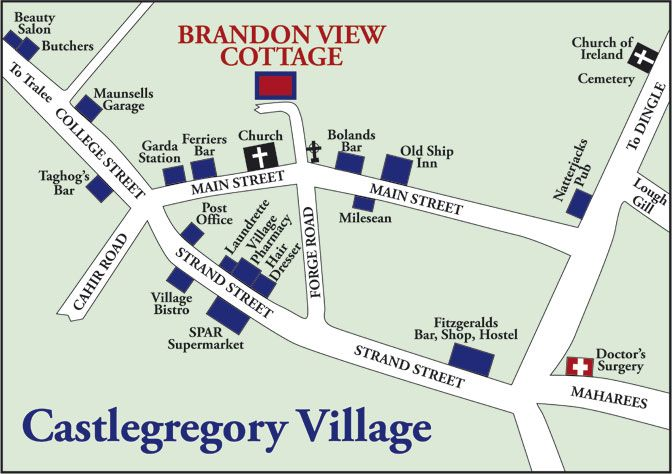 map of castlegregory - Google Search