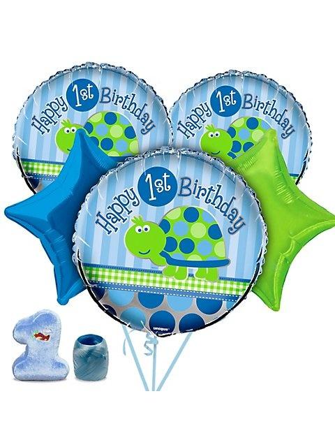 First Birthday Turtle Balloon Kit