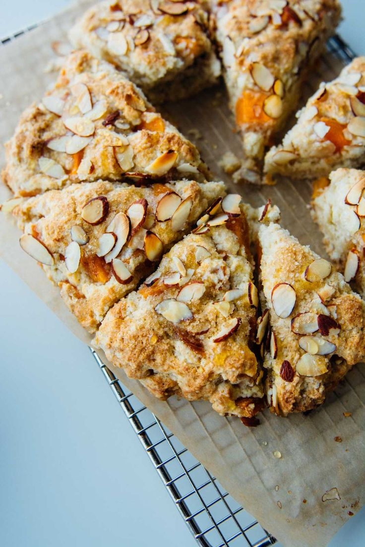 Vegan and dairy-free, these persimmon almond scones are crunchy on the outside and delightfully tender on the inside. Perfect!