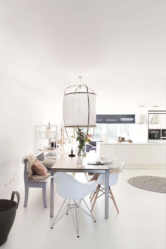 Como elegir la lampara para el comedor? | Lamparas para el comedor ...
