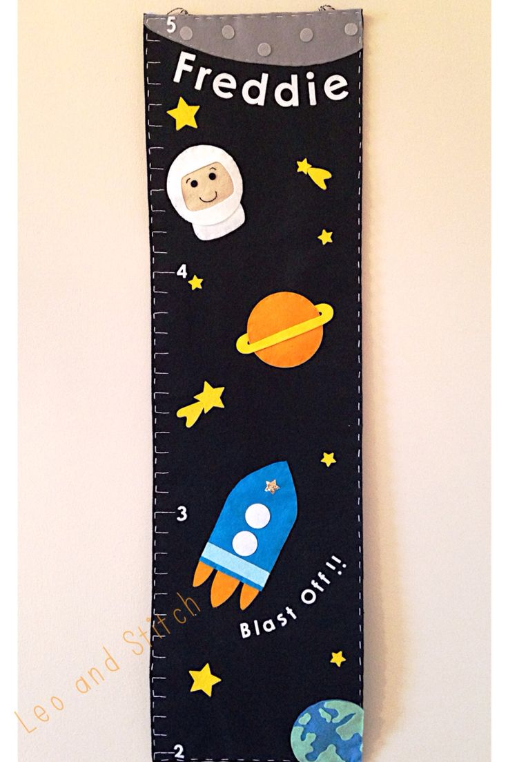 Space felt height chart