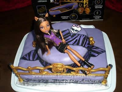 17 best images about monster high party ideas on pinterest - Clawdeen wolf pyjama party ...