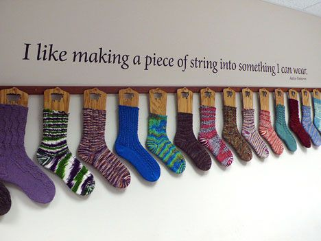 I like this for a sock display concept