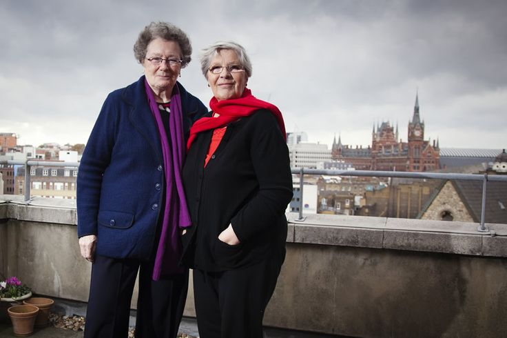 Sylvia, 69, and Maggie, 72, both came from Catholic families and both have been married and had children. They discovered their lesbianism in the late 1970s and have been together for over 30 years. They had a difficult experience of trying to live in sheltered housing where they were badly bullied.