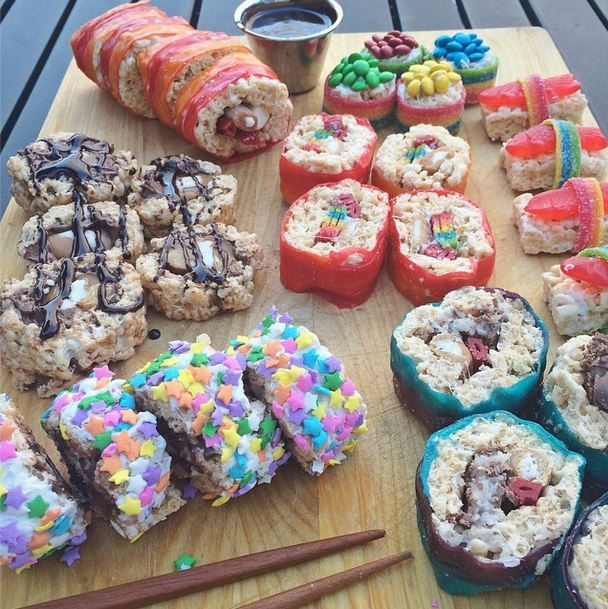 Candy Sushi Recipe from The Sprinkle Project #thesprinkleproject @rcorrera