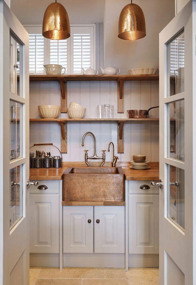 Bigger isn't always better. As charming, small-space Artisan kitchen shows. Via john-lewis.co.uk