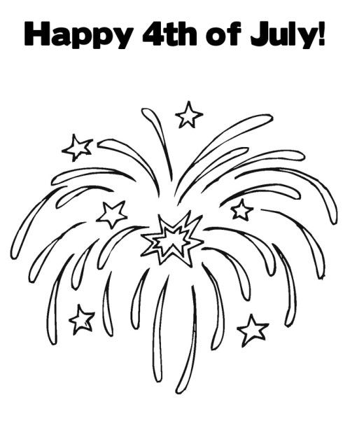 the 4th of july coloring pages