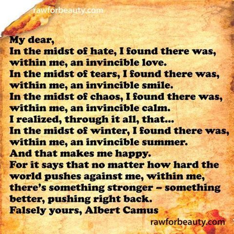 albert camus quotes | Albert Camus Quote | Words to live by