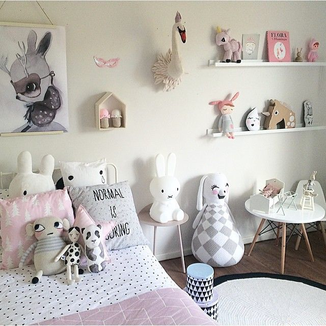 all the characters and critters that make a child's room home. #estella #kids #decor