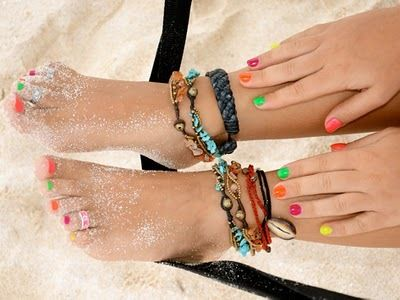 Anklets: Style, Anklet, Jewelry, Beach, Nails, Accessories, Summertime, Ankle Bracelets, Summer Time